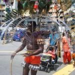 ヒンズー教の奇祭 タイプーサム(Thaipusam)